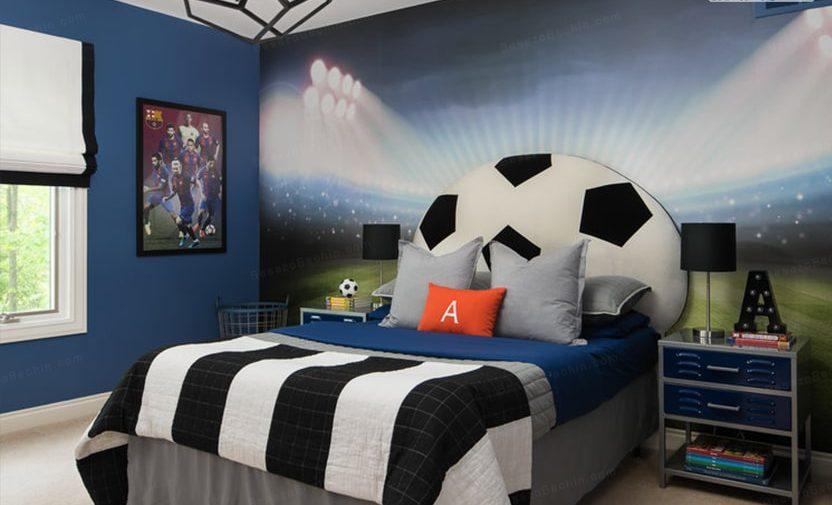 پوستر دیواری سه بعدی اتاق پسرانه